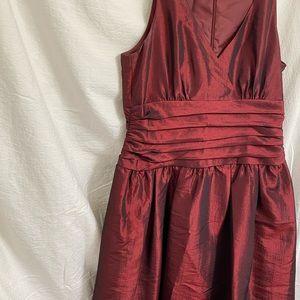 Jones Wear Dresses - Dark red Dress Knee Length